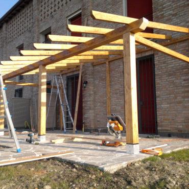 strutture in legno ferrara